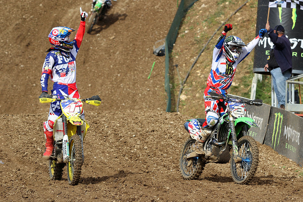 The Ryans 1-2 - MXoN Podium pictures - Motocross Pictures - Vital MX