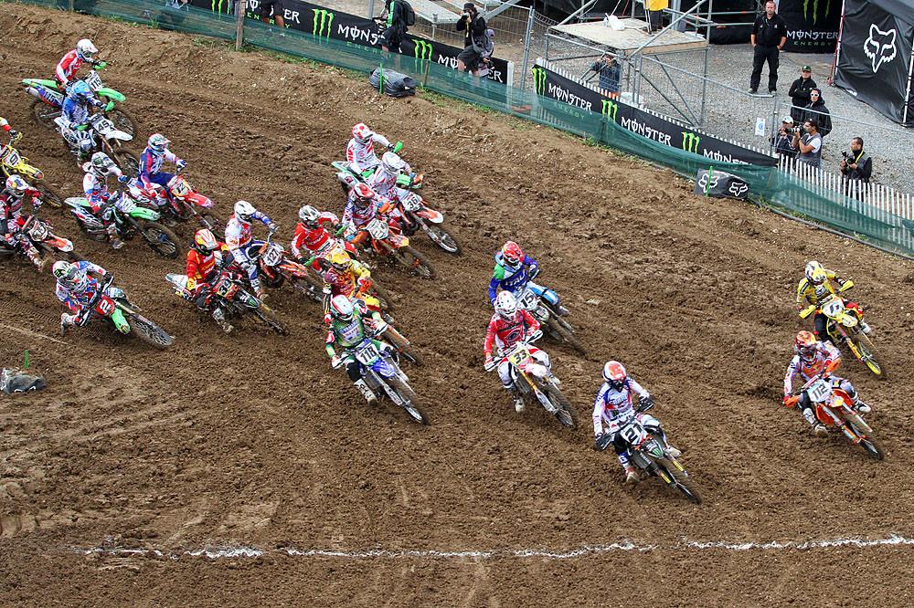 Open / MX2 Start - MXoN Sunday Racing Pictures - Motocross Pictures - Vital MX
