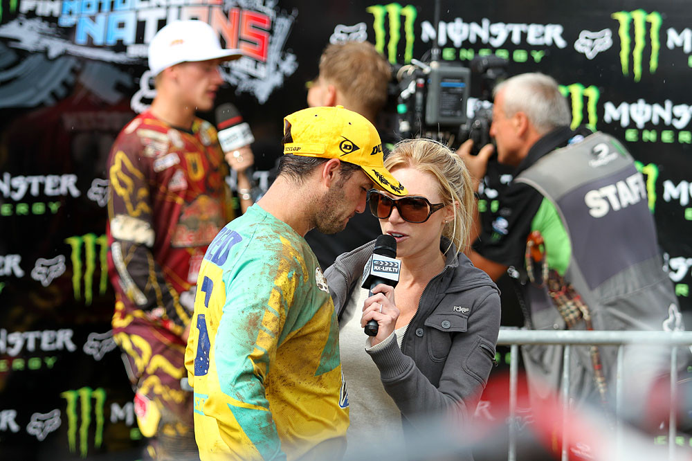 Media time - MXoN Sunday Racing Pictures - Motocross Pictures - Vital MX