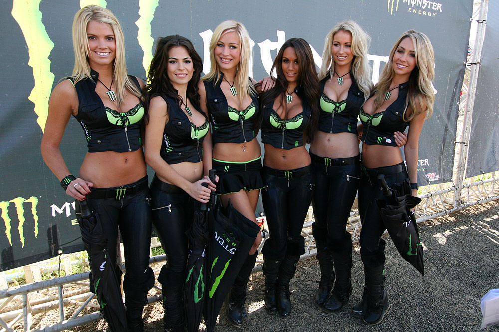 Monster Girls - MXoN Sunday Racing Pictures - Motocross Pictures - Vital MX