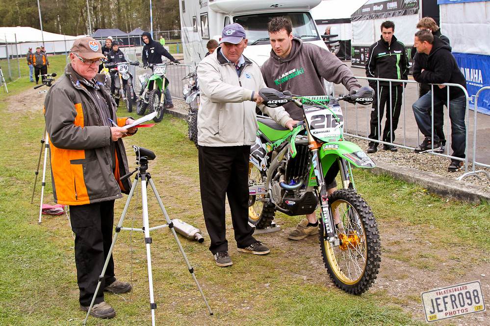 Sound Testing - Dutch GP, Valkenswaard - Motocross Pictures - Vital MX