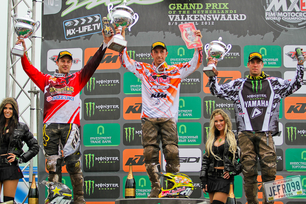 MX1 podium - Dutch GP Sunday Racing - Motocross Pictures - Vital MX