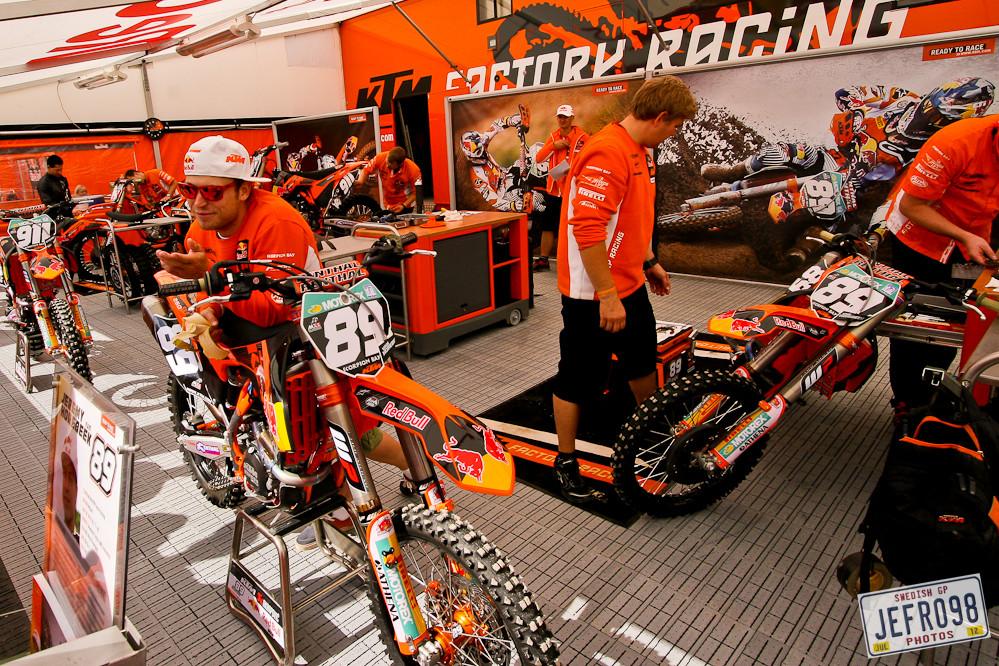 Team KTM - Swedish GP, Saturday pitbits - Motocross Pictures - Vital MX