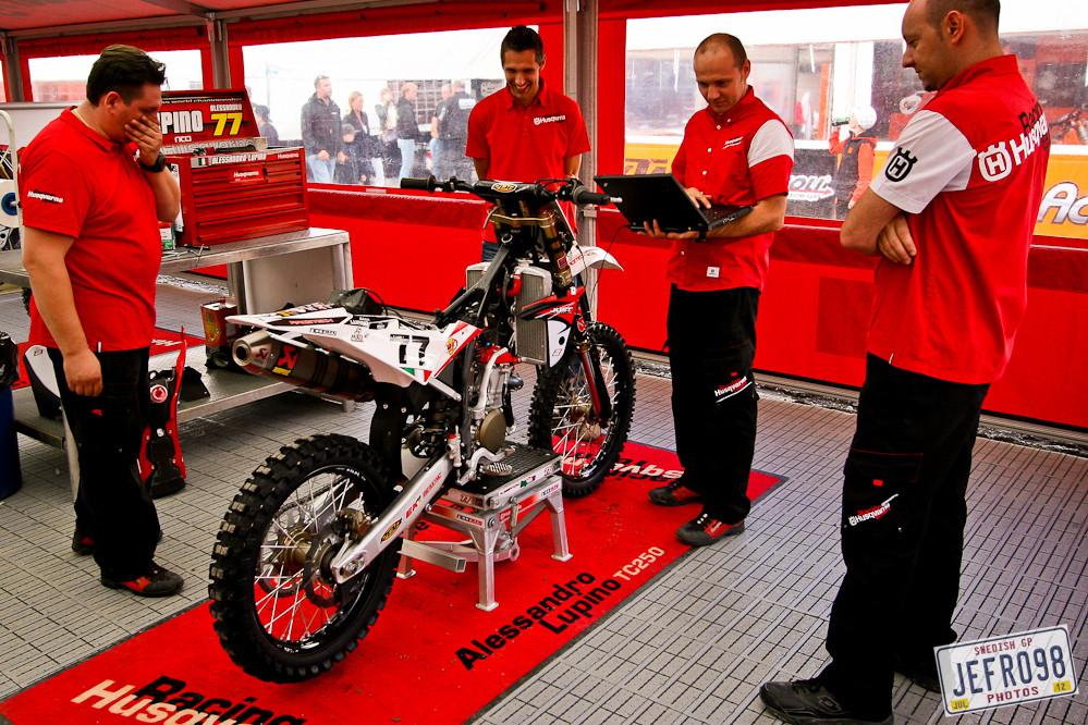 Husqvarna Racing - Swedish GP, Saturday pitbits - Motocross Pictures - Vital MX