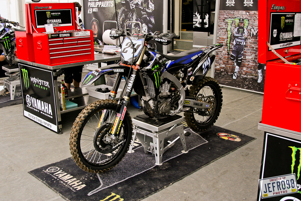 Team Yamaha - Swedish GP, Saturday pitbits - Motocross Pictures - Vital MX