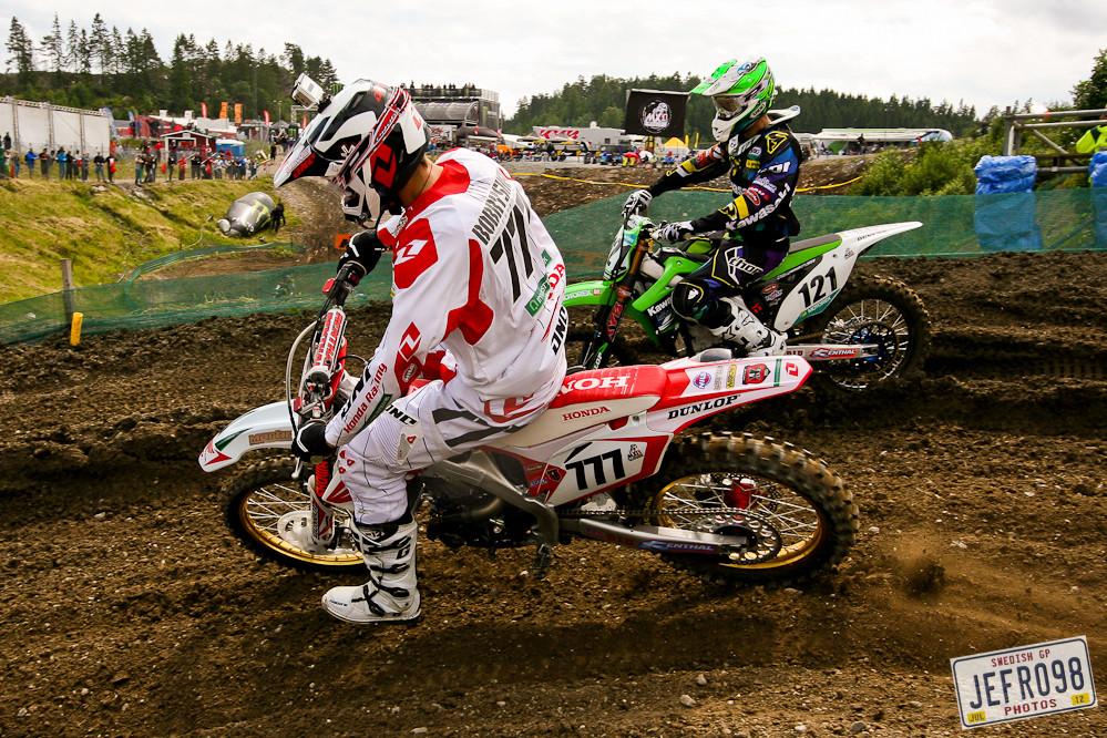 Evgeny Bobryshev - Swedish GP, Saturday pitbits - Motocross Pictures - Vital MX