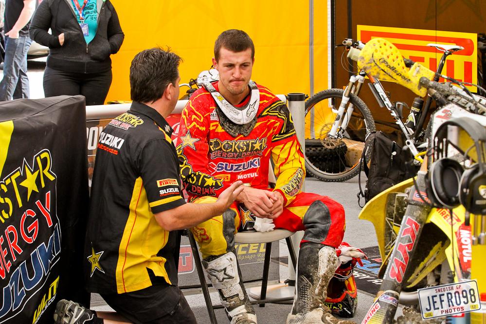 Clement Desalle - Swedish GP, Saturday pitbits - Motocross Pictures - Vital MX
