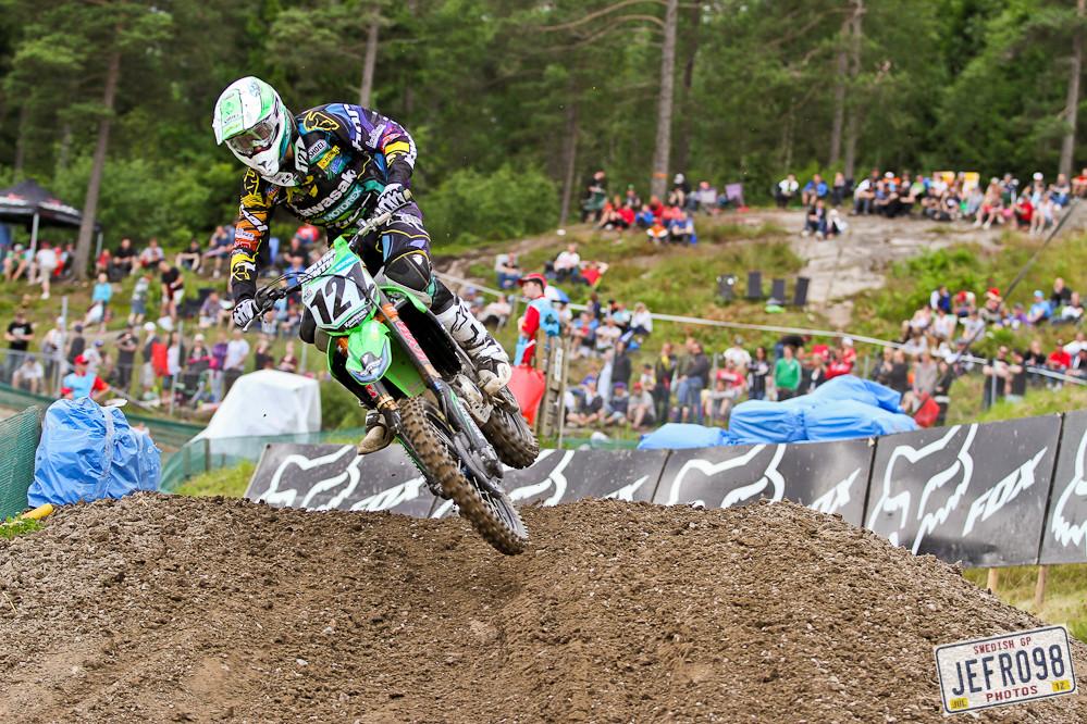 Xavier Boog - Swedish GP, Saturday pitbits - Motocross Pictures - Vital MX