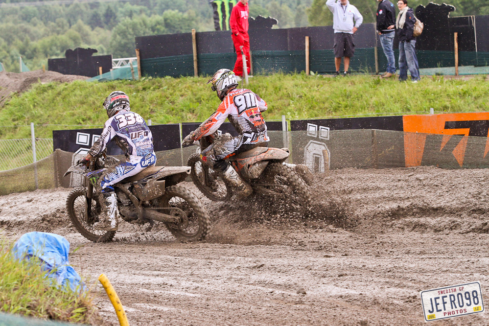 Osborne vs Tixier - Swedish GP, Saturday pitbits - Motocross Pictures - Vital MX