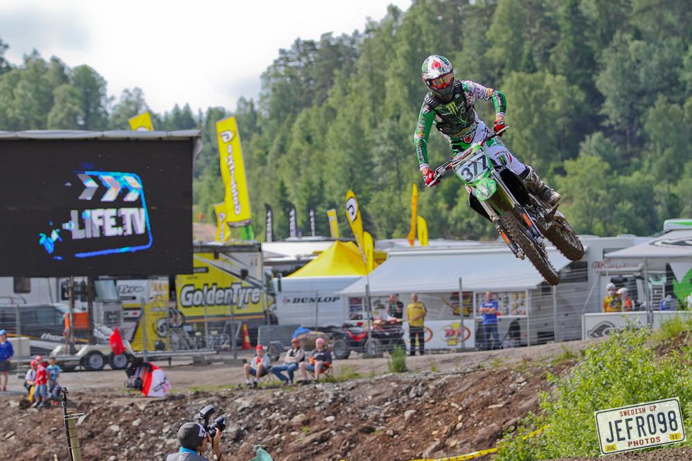 Christophe Pourcel - Swedish GP, Saturday pitbits - Motocross Pictures - Vital MX