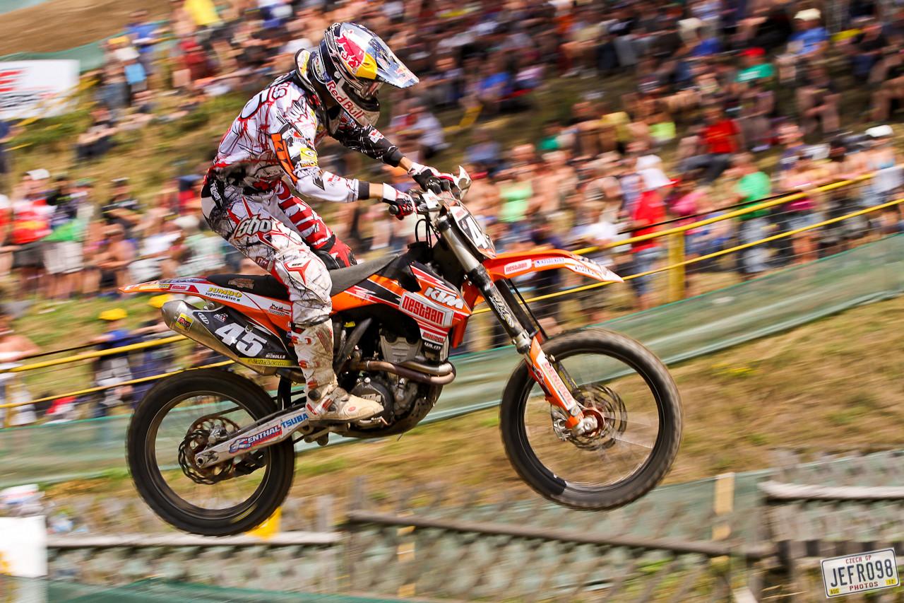 Jake Nicholls - Czech GP Sunday Racing pictures - Motocross Pictures - Vital MX