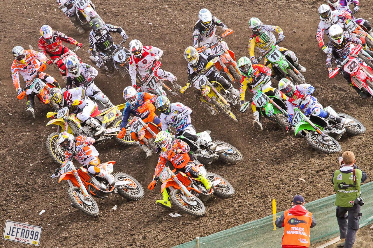 MX1 start - German GP at Teutschenthal - Motocross Pictures - Vital MX