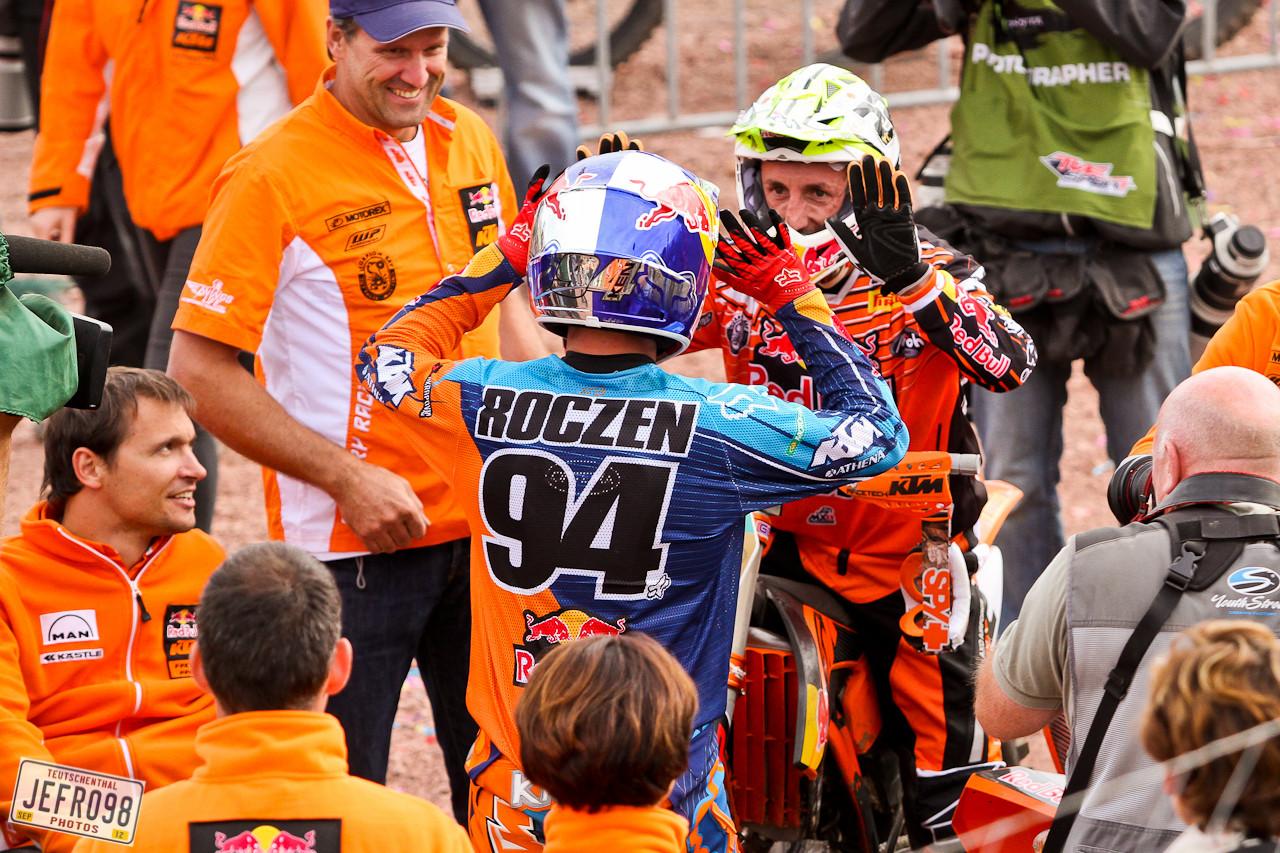 Roczen & Cairoli - German GP at Teutschenthal - Motocross Pictures - Vital MX