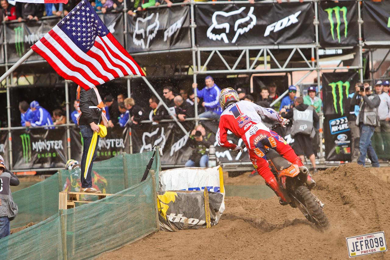 Ryan Dungey - MXoN Saturday Qualifing Races - Motocross Pictures - Vital MX