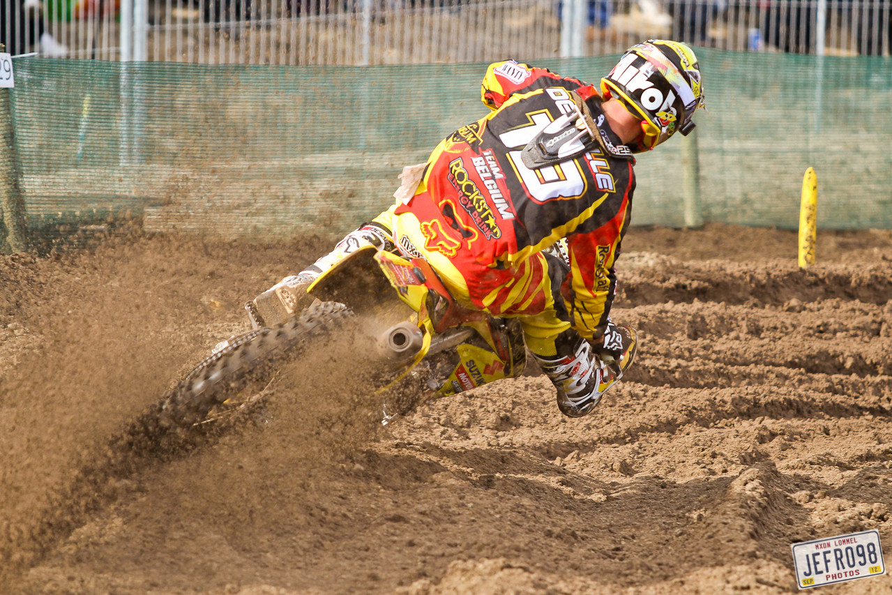 Clement Desalle - MXoN Saturday Qualifing Races - Motocross Pictures - Vital MX