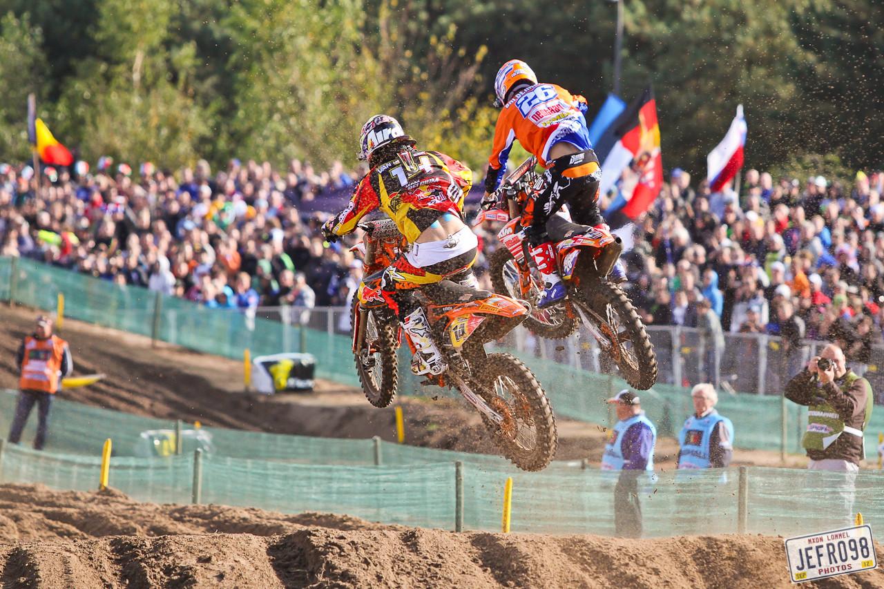 Coldenhoff and van Horebeek - MXoN Saturday Qualifing Races - Motocross Pictures - Vital MX