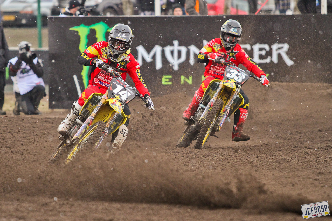 Max Anstie & Julien Lieber - Dutch GP Valkenswaard - Motocross Pictures - Vital MX