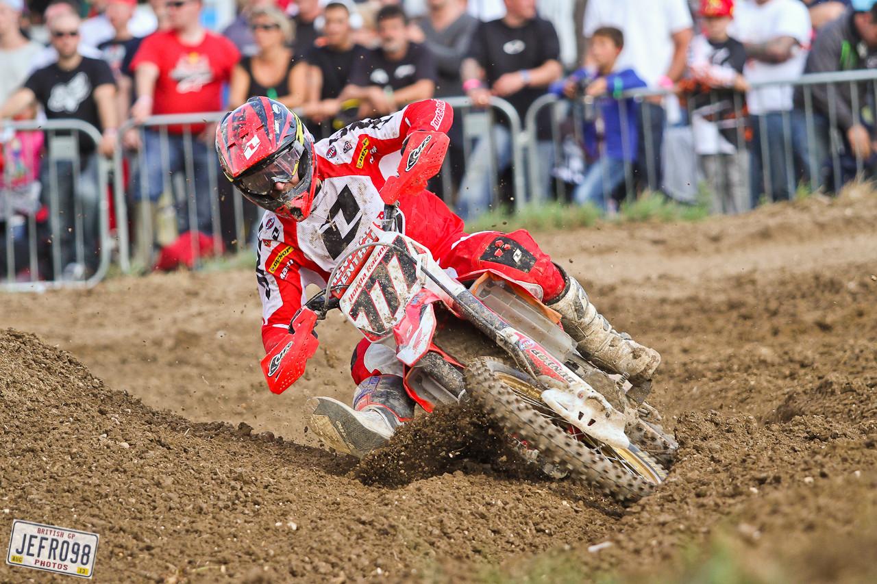 Evgeny Bobryshev - Photo Blast: British GP - Motocross Pictures - Vital MX