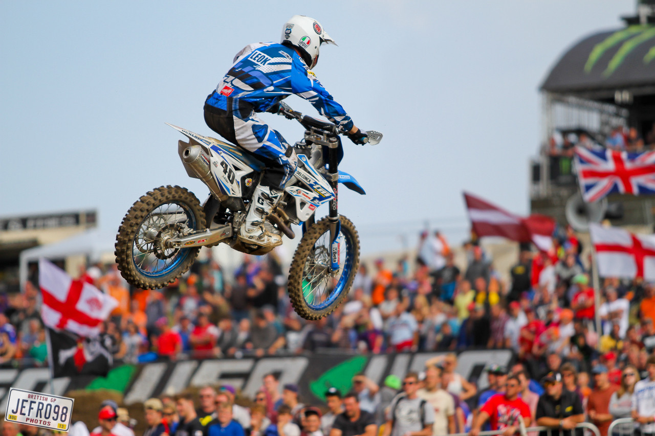 Tanel Leok - Photo Blast: British GP - Motocross Pictures - Vital MX