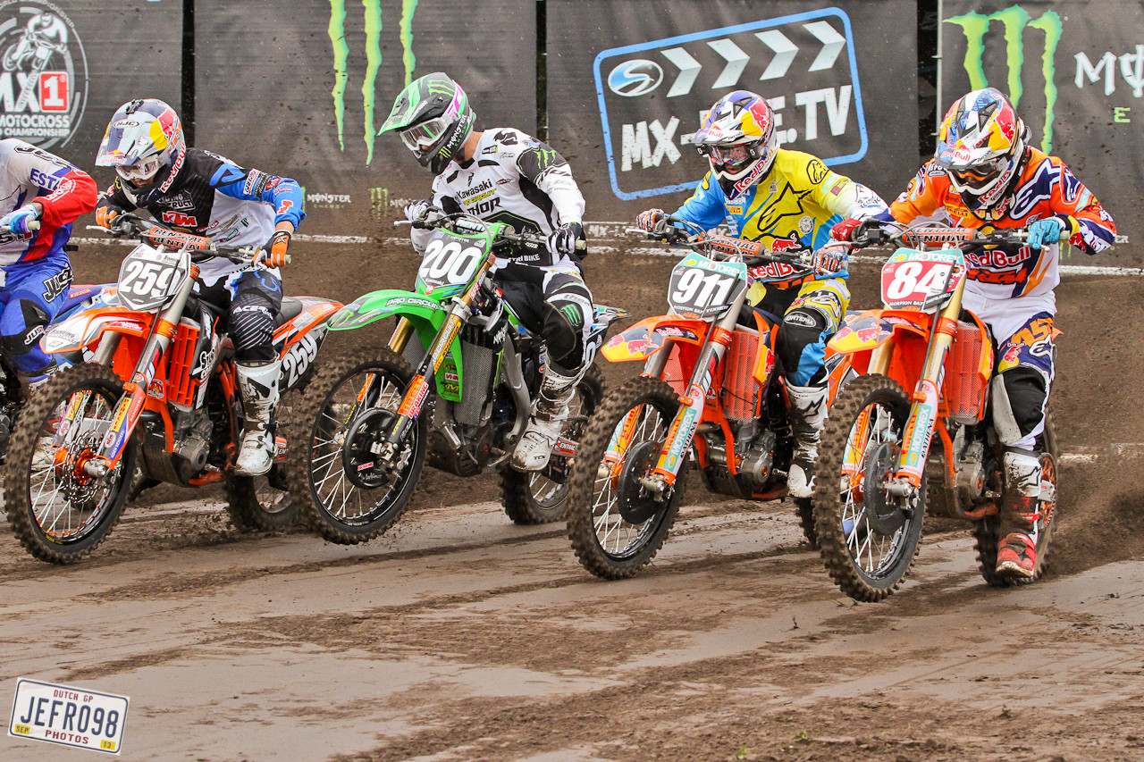 MX2 Start - Photo Blast: BeNeLux GP - Motocross Pictures - Vital MX