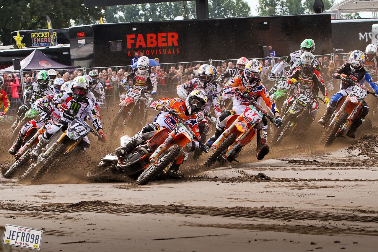 MX2 Start - Photo Blast: BeNeLux GP - Motocross Pictures - Vital MX