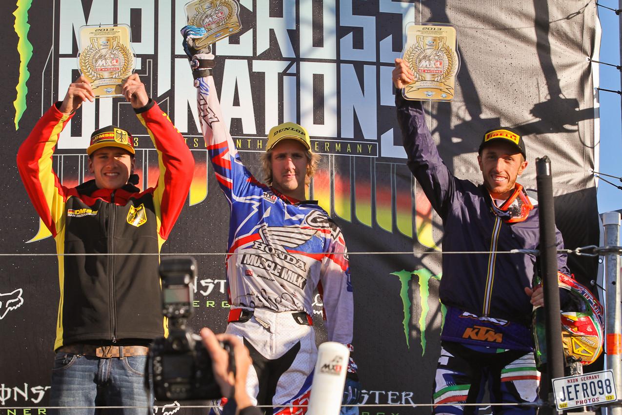 Class winners - MXoN Podium Photos - Motocross Pictures - Vital MX