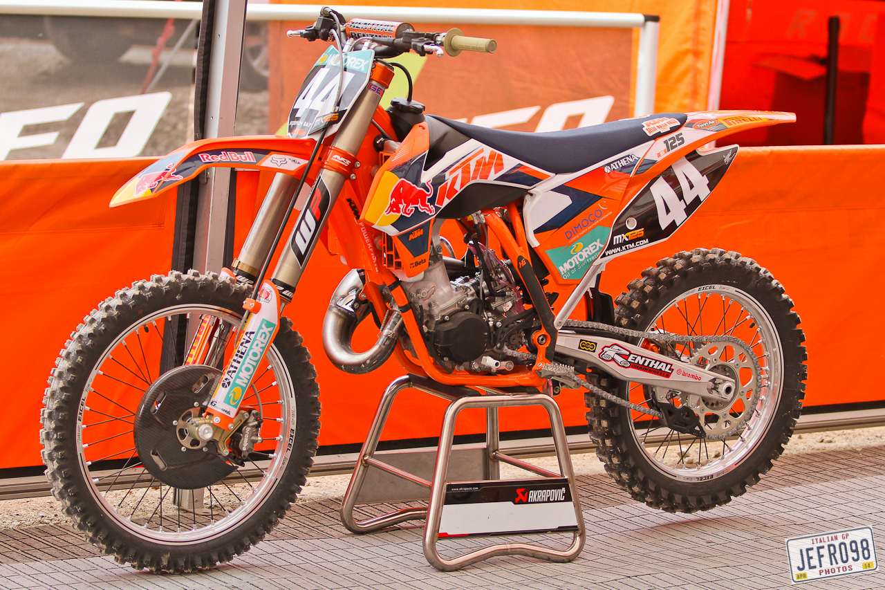 ktm 125cc photo blast mxgp of trentino motocross pictures vital mx. Black Bedroom Furniture Sets. Home Design Ideas
