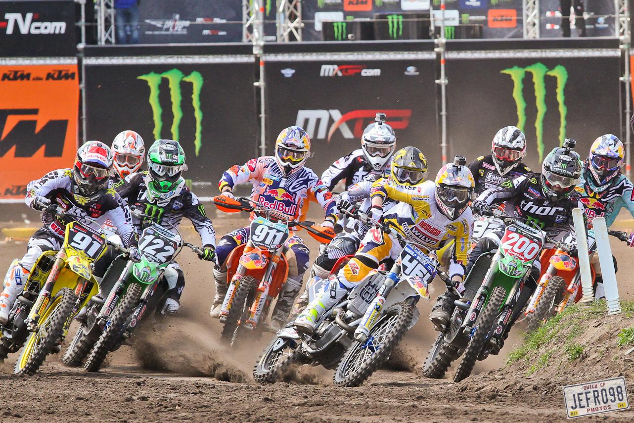 MX2 Start - Photo Blast: MXGP of Valkenswaard - Motocross Pictures - Vital MX