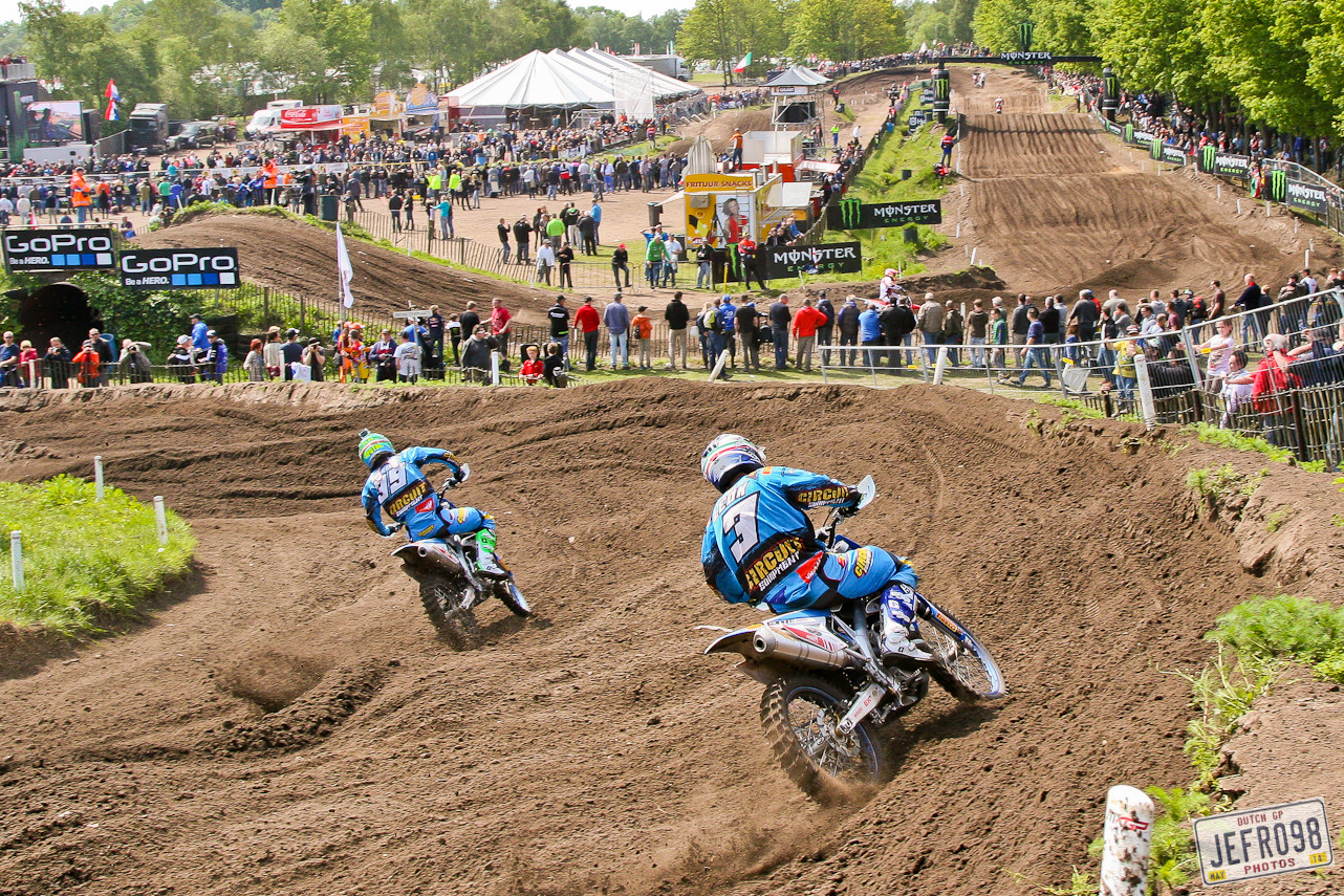 Davide Guarneri & Tanel Leok - Photo Blast: MXGP of Valkenswaard - Motocross Pictures - Vital MX