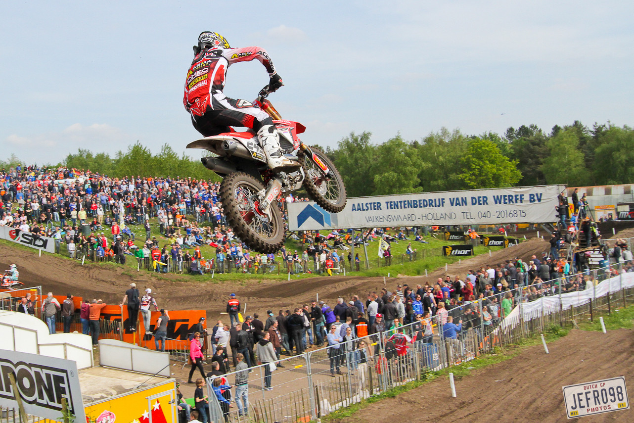 Tim Gajser - Photo Blast: MXGP of Valkenswaard - Motocross Pictures - Vital MX