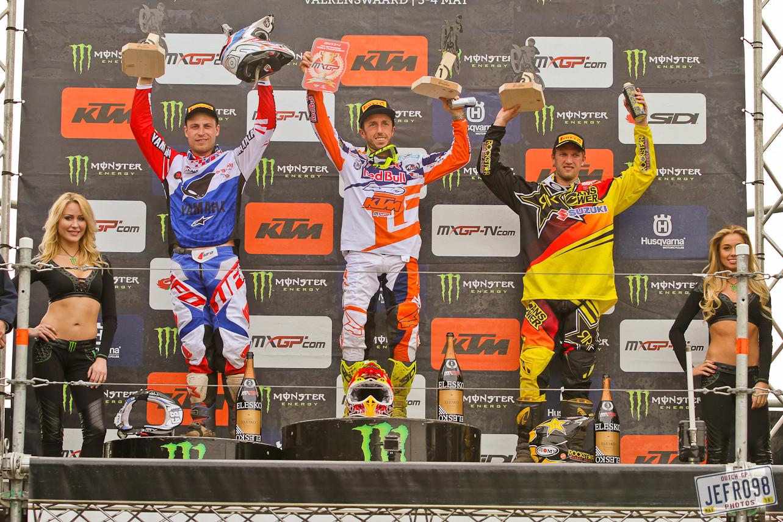 MXGP Podium - Photo Blast: MXGP of Valkenswaard - Motocross Pictures - Vital MX