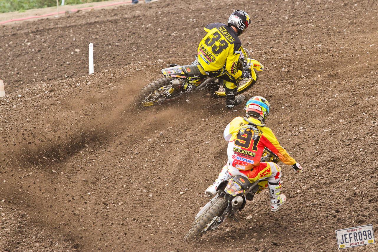 Julien Lieber & Jeremy Seewer - Photo Blast: MXGP of Germany - Motocross Pictures - Vital MX