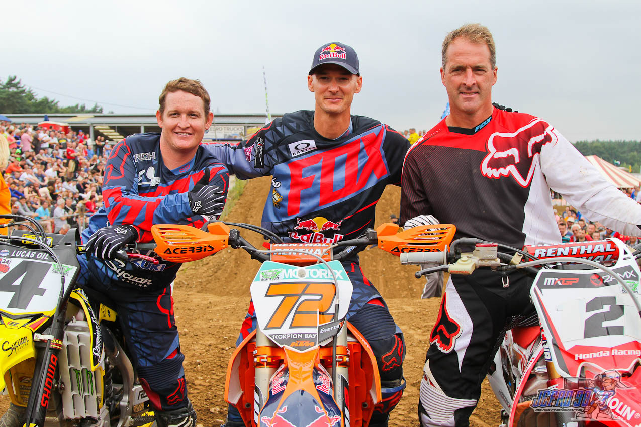 Legends - Photo Blast: Everts & Friends Charity Race - Motocross Pictures - Vital MX