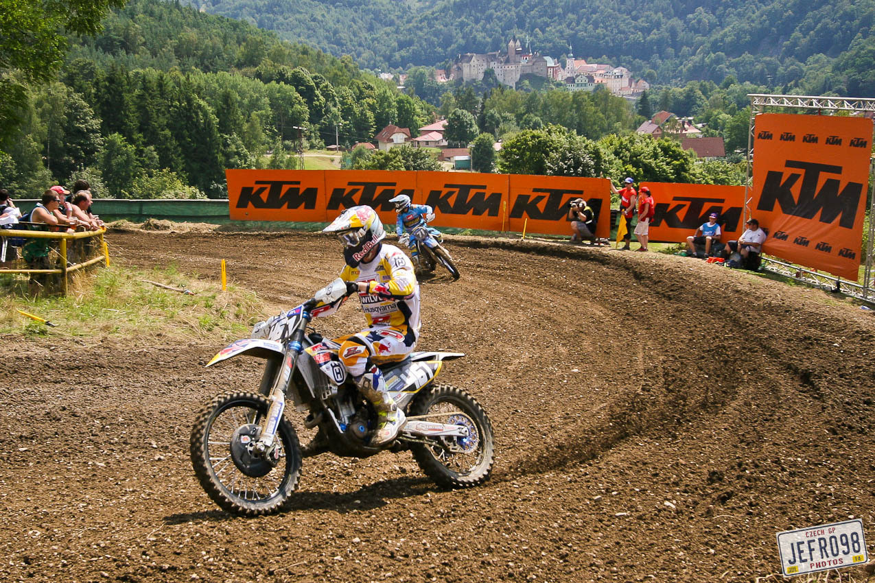 Romain Febvre - Photo Blast: MXGP of Czech Republic - Motocross Pictures - Vital MX