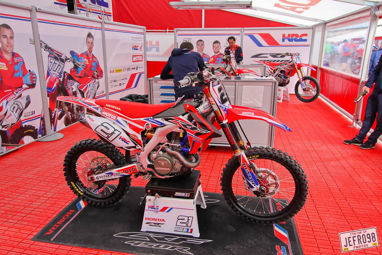 Team Hrc Honda 450f Jefro98 Motocross Pictures Vital Mx