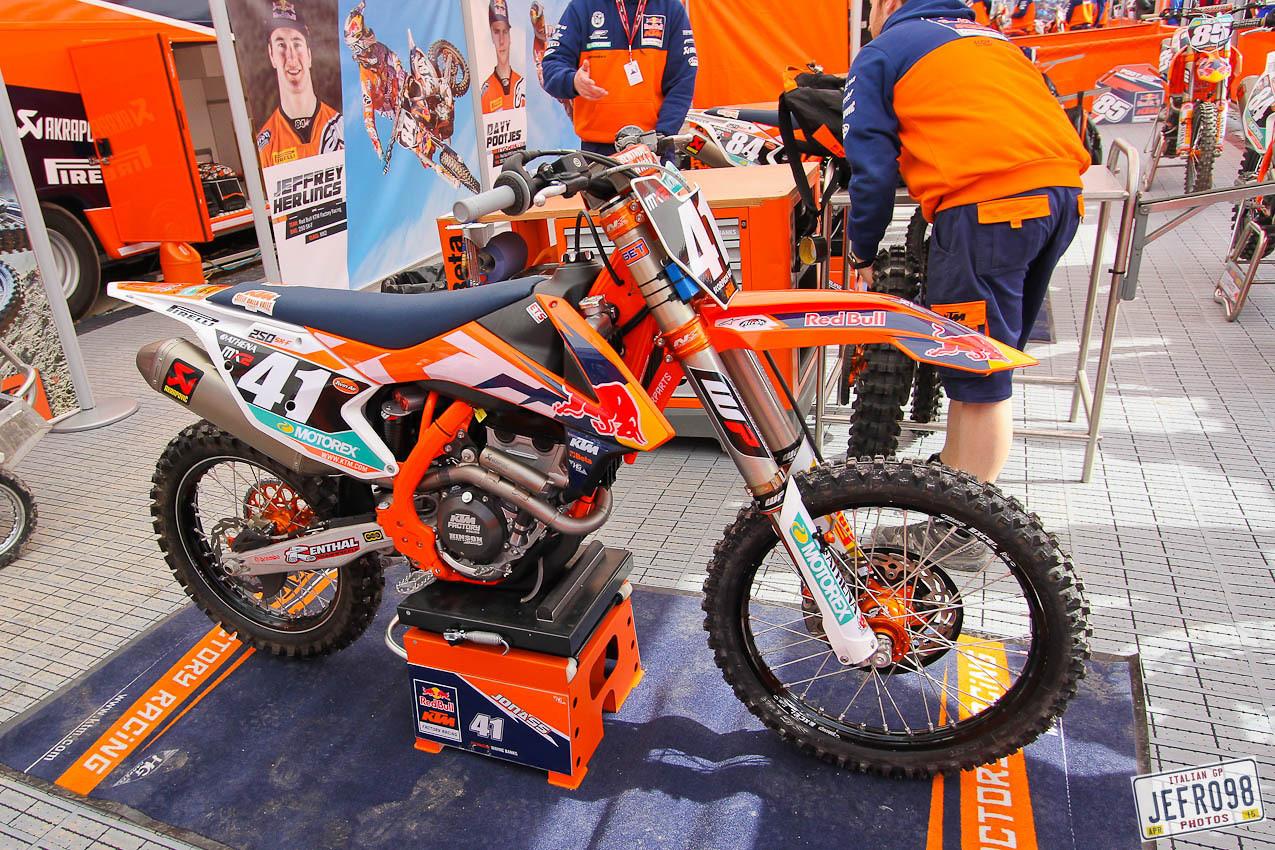 Pauls Jonass KTM 250F - Jefro98 - Motocross Pictures - Vital MX