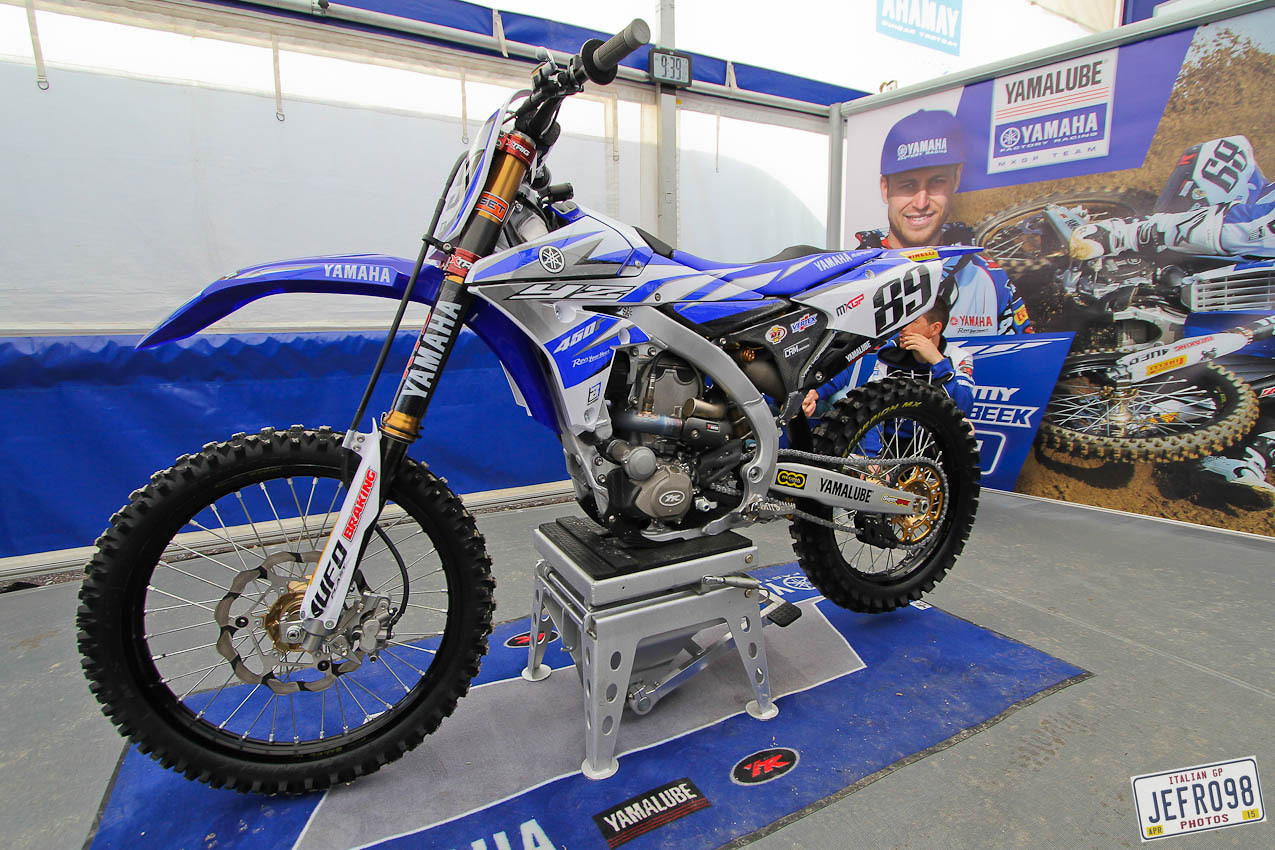 Jeremy van Horebeek Yamaha YZF450 - Jefro98 - Motocross Pictures - Vital MX