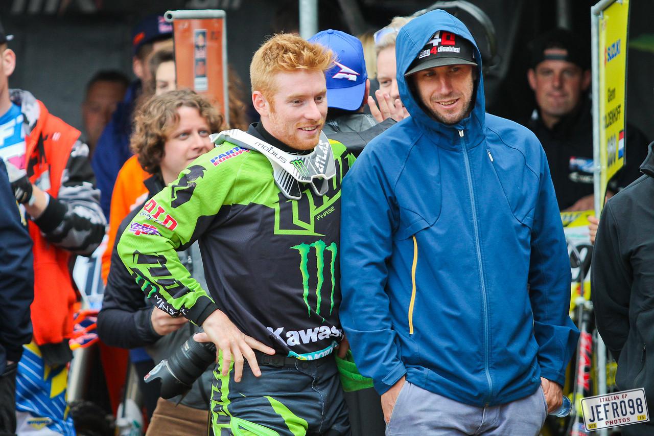 Ryan Villopoto & Ben Townley - Jefro98 - Motocross Pictures - Vital MX