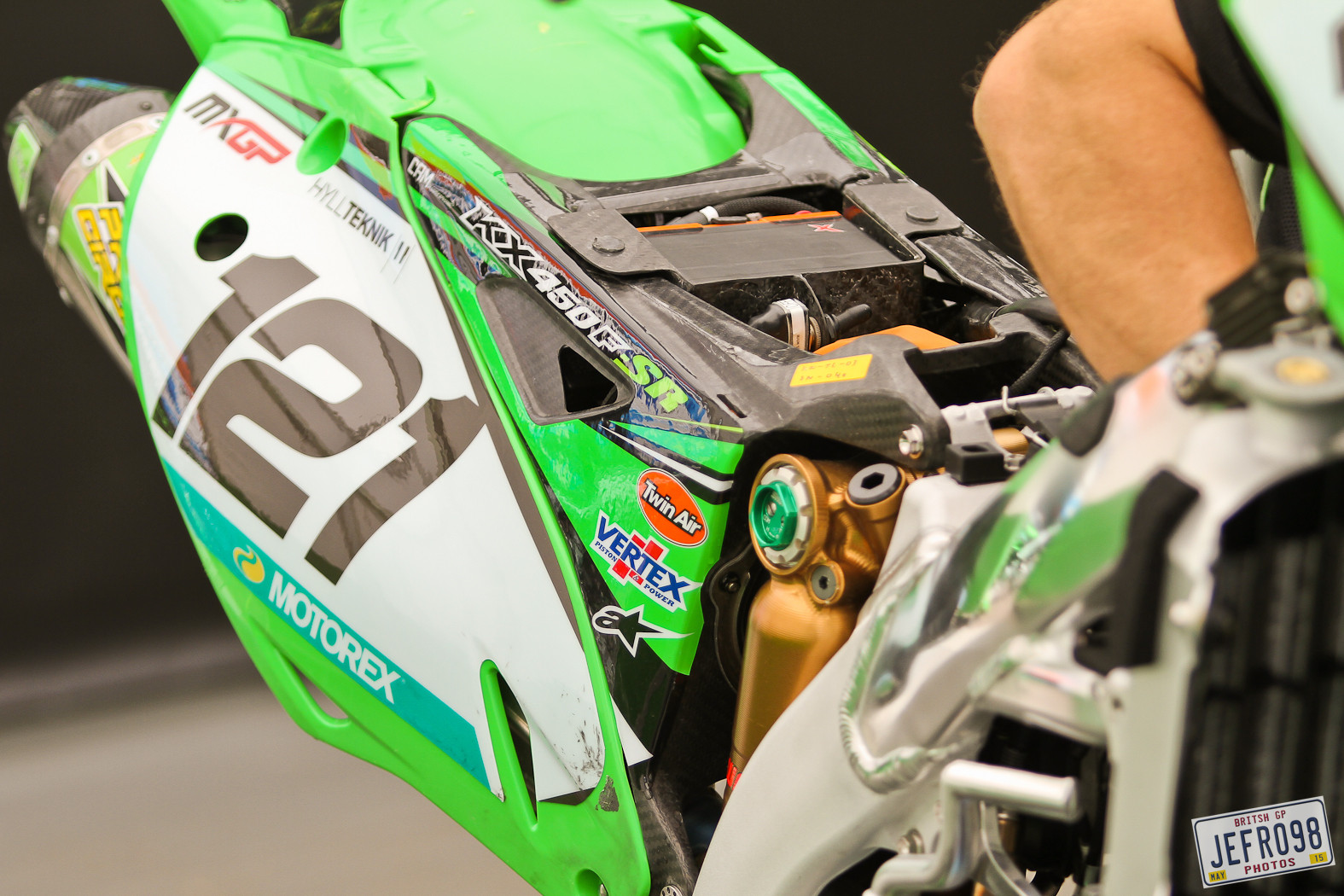 Team KRT Kawasaki - Photo Blast: MXGP of Great Britain - Motocross Pictures - Vital MX