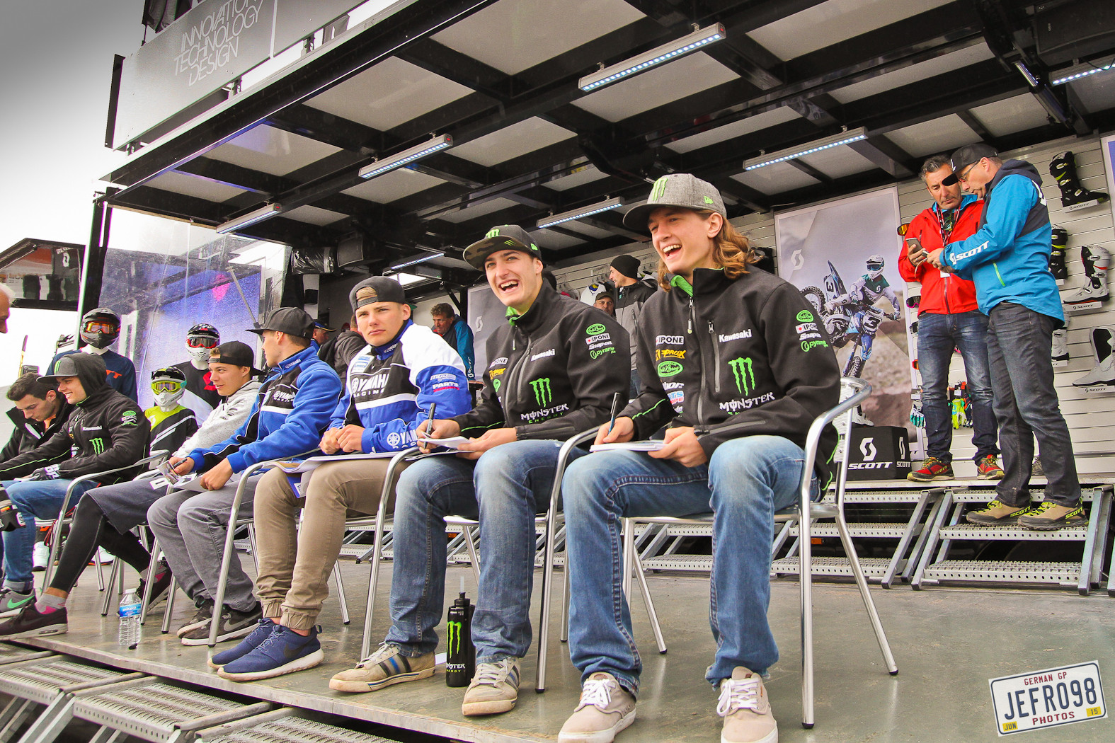 Thomas Covington & Petar Petrov - Photo Blast: MXGP of Germany - Motocross Pictures - Vital MX
