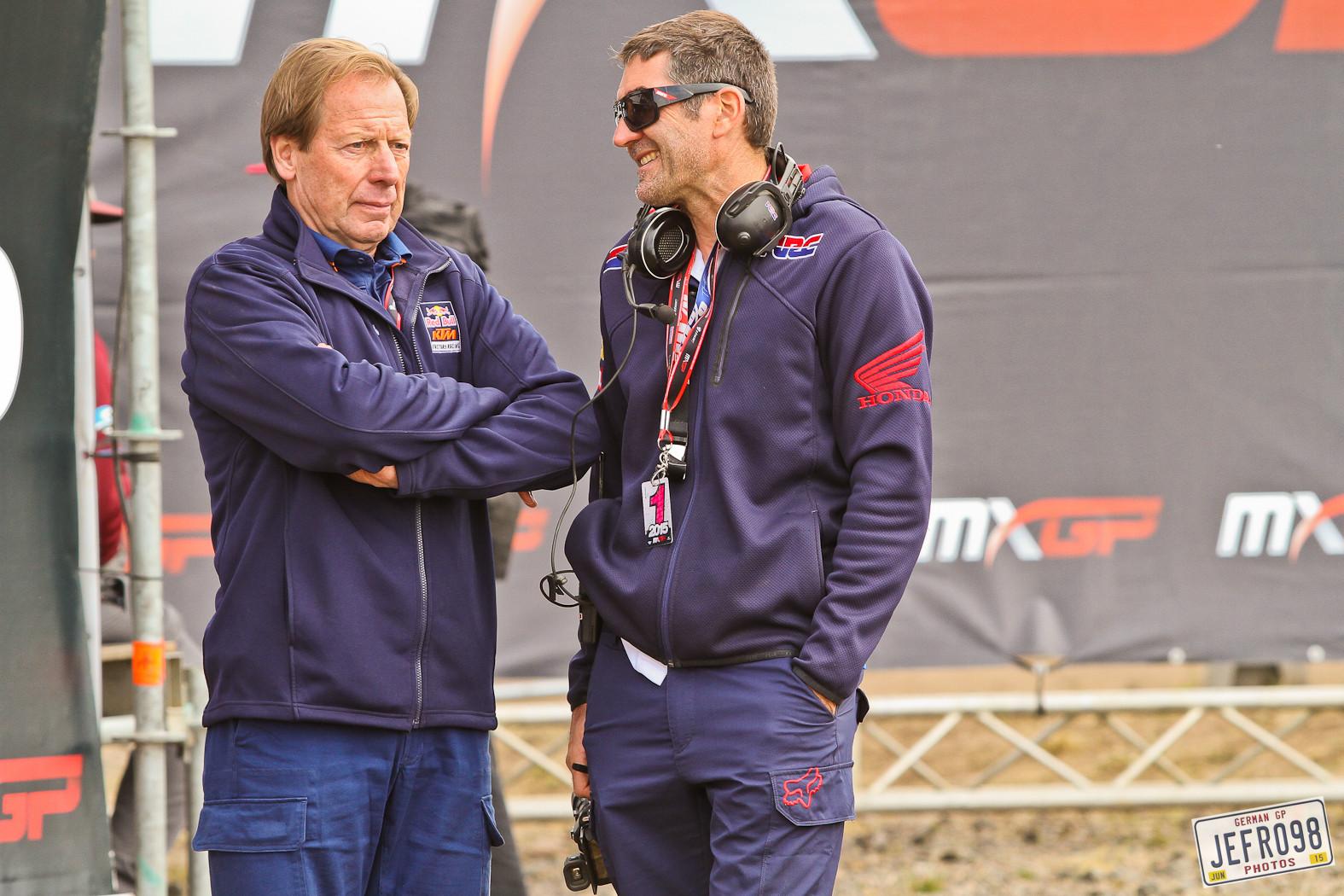 Roger De Coster & Jean Michel Bayle - Photo Blast: MXGP of Germany - Motocross Pictures - Vital MX