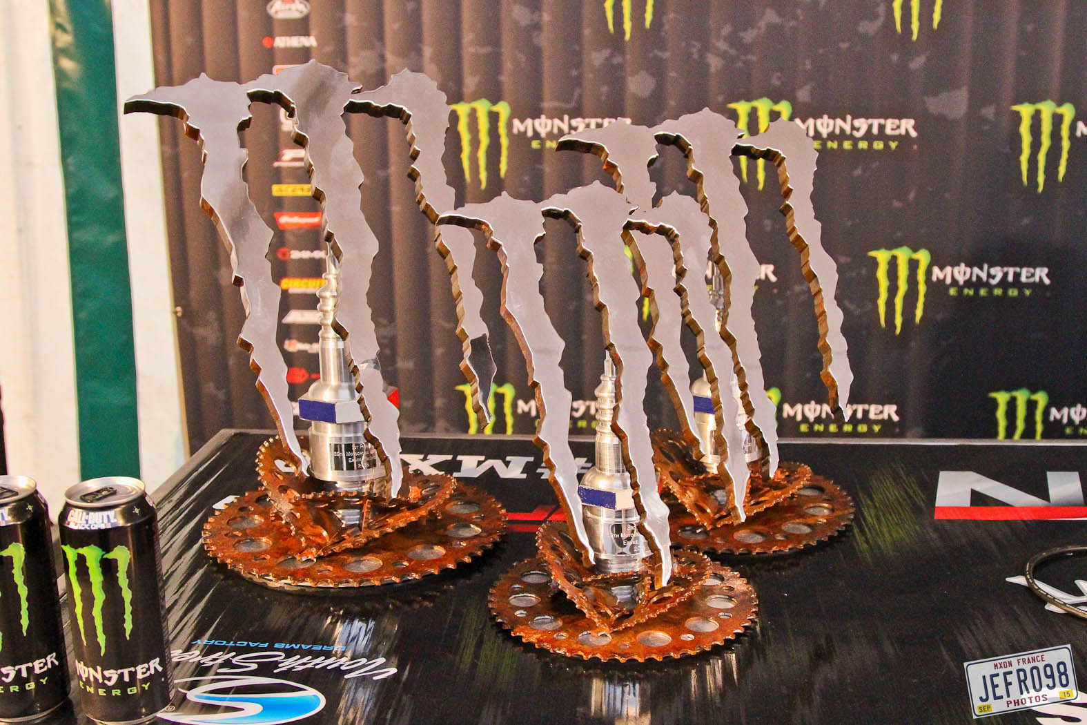 Class Champion Trophies - Photo Blast: MXoN Saturday bikes and racing. - Motocross Pictures - Vital MX