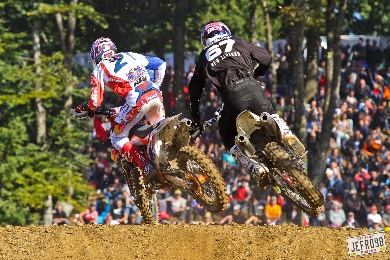 Musquin & Townley - Photo Blast: MXoN Sunday racing - Motocross Pictures - Vital MX