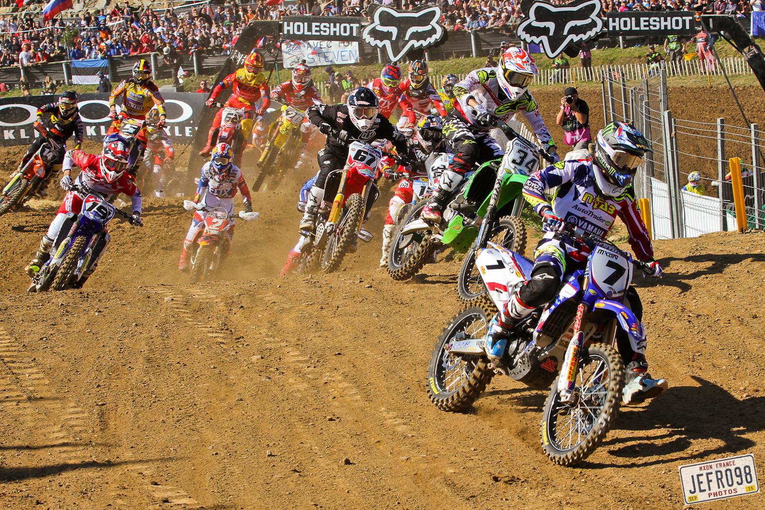 Justin Barcia - Photo Blast: MXoN Sunday racing - Motocross Pictures - Vital MX