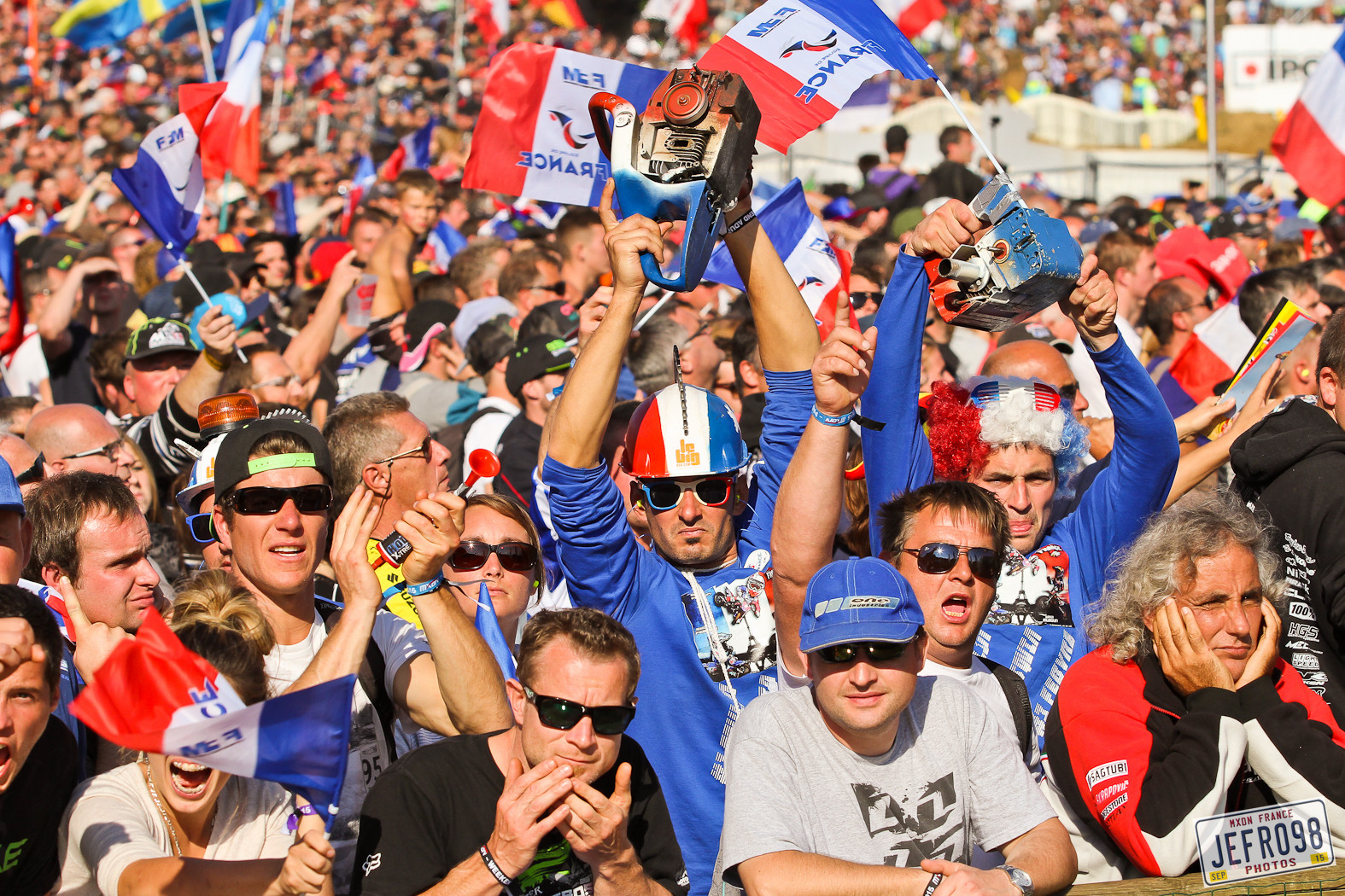 French fans - Photo Blast: MXoN Sunday racing - Motocross Pictures - Vital MX