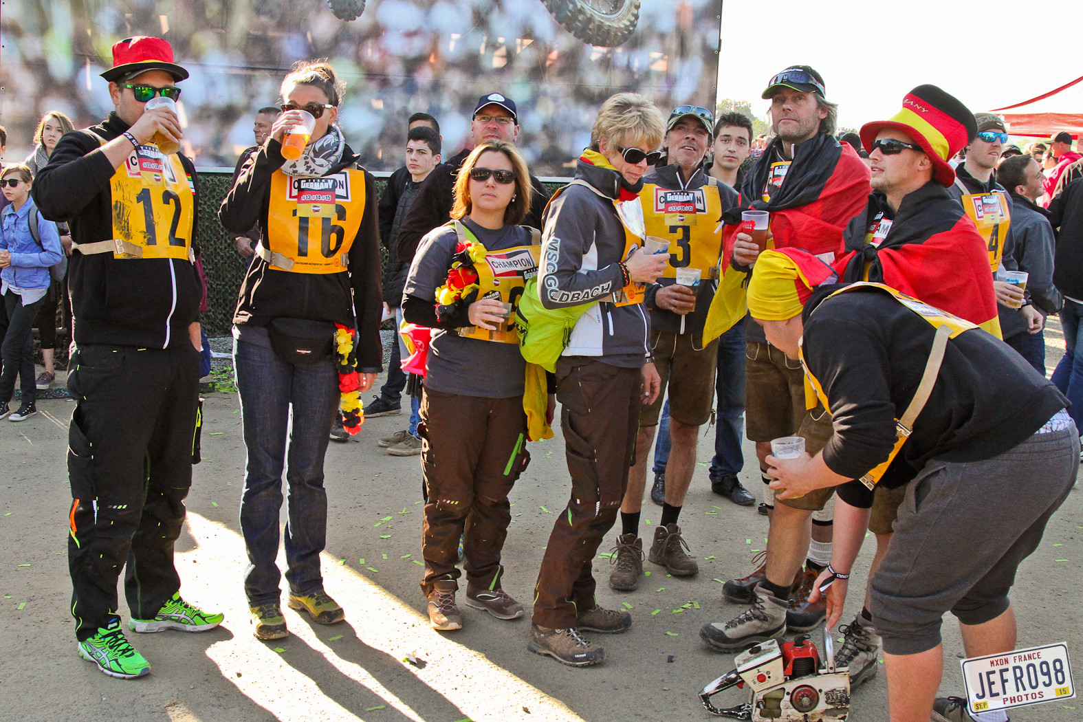 German fans - Photo Blast: MXoN Sunday racing - Motocross Pictures - Vital MX