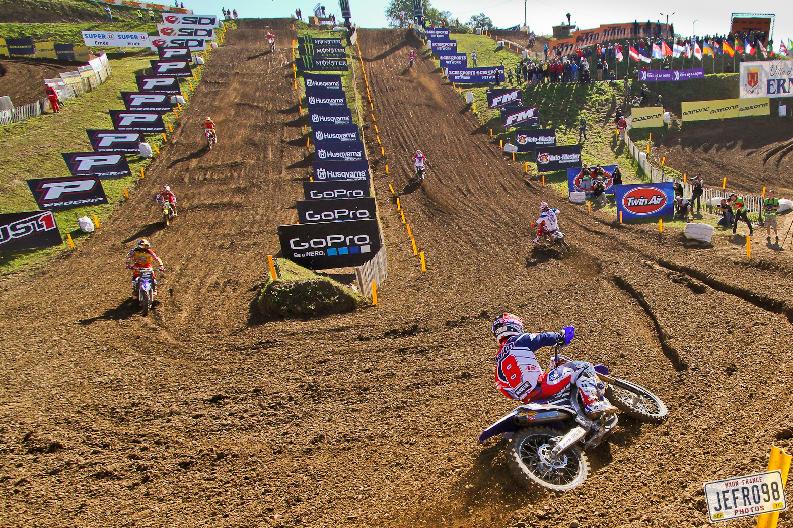 Ernee Track view - Photo Blast: MXoN Sunday racing - Motocross Pictures - Vital MX