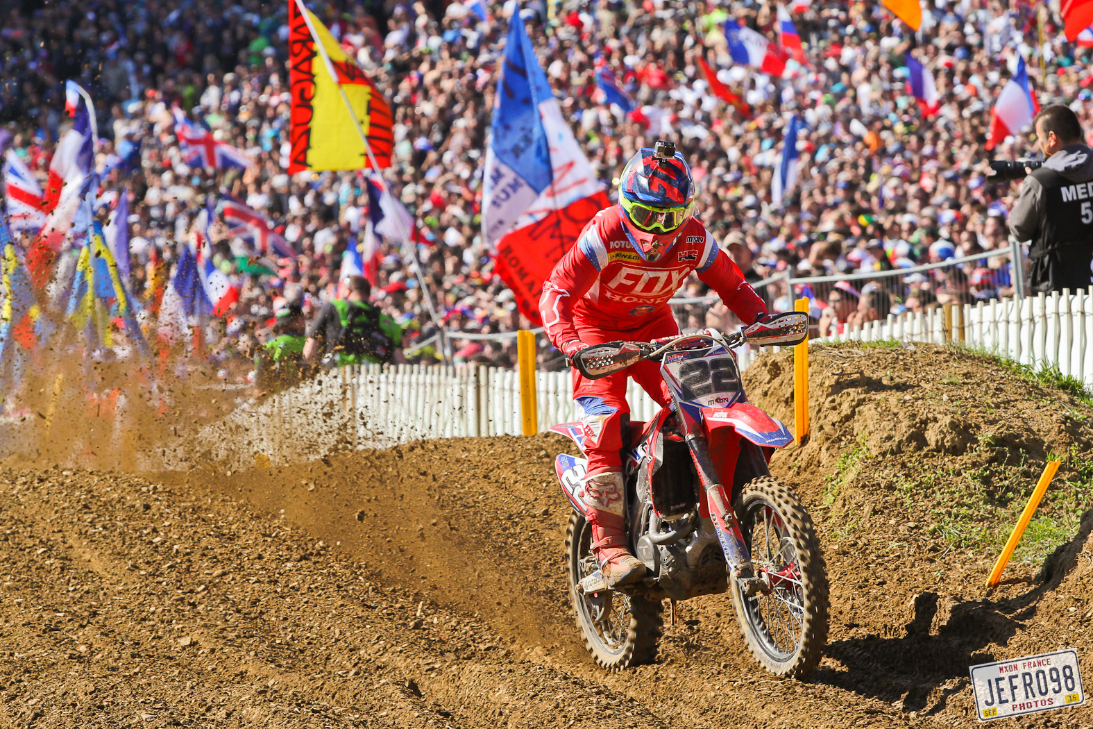 Evgeny Bobryshev - Photo Blast: MXoN Sunday racing - Motocross Pictures - Vital MX