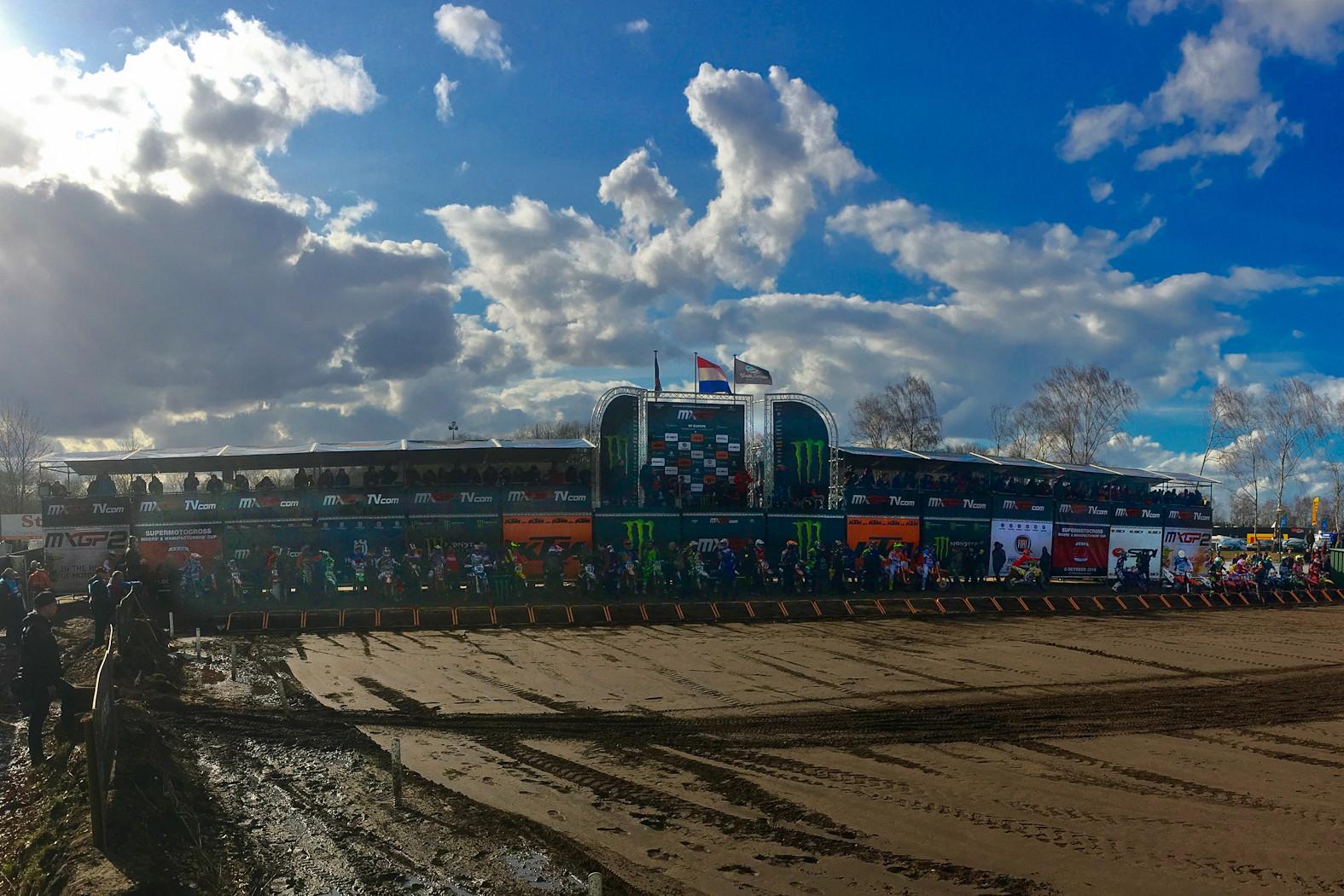 Dutch skies - Photo Blast: MXGP of Europe - Motocross Pictures - Vital MX