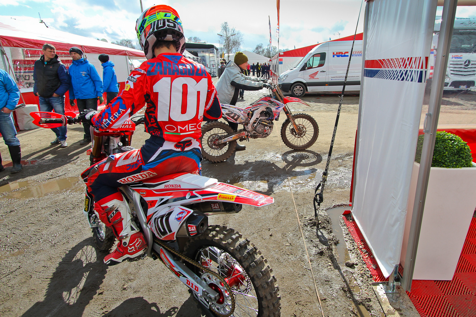 motorcycle gallery zaragoza  Jorge Zaragoza - In the Pits: MXGP of Europe - Motocross Pictures ...